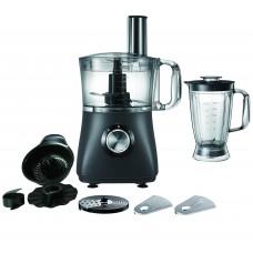 Campomatic food processor with 2l bowl & 2l blender  2 speeds  750w direct drive motor  juicer  pro