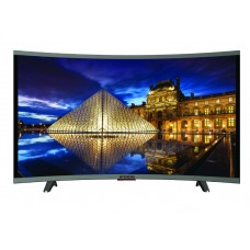 HYUNDAI, 65 inch, Curved LED Smart TV with 3 HDMI Ports - Black