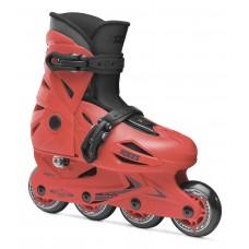 Roces Orlando III Kid's Adjustable Inline Skates- Red