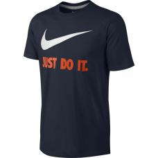 Nike, Men's Tee T-shirt Jdi Swoosh New, Blue