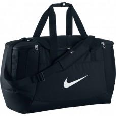 Nike Men's Club Team Football Duffel Bag- Black/ White