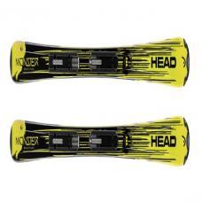 Head, Kid's Monster SLR II, Black/Yellow