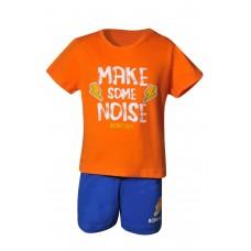 Bodytalk Boys' Lifestyle Make Some Noise Set T-Shirt & Short