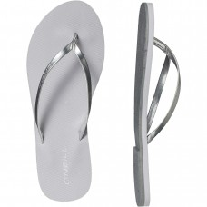 O'Neill Women's Beach Metallic Strap Slippers