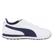 Puma Kids' Lifestyle Turin Shoes- White& Navy