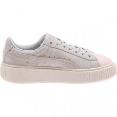 Puma Kids' Lifestyle Suede Platform Glam Shoes- Available in two colors