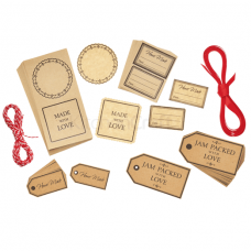 Kitchen Craft, Gift Tag Set, 120 Pieces, Paper