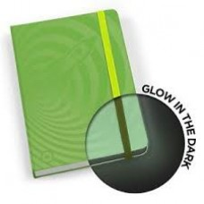 Mustard, Glow In The Dark Notebook, Green