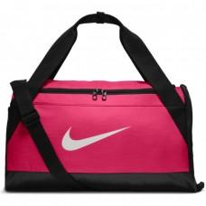Nike Unisex Training Brsla S Duffel Bag, Pink & Black