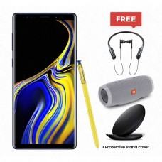 Samsung, Galaxy Note 9, Available in 3 Colors, Including Free JBL Charge 3 Speaker + Clear Cover + Samsung Neckband Flex Bluetooth Headset + Premium Wireless Charger + Premium Box + Protective Cover