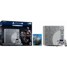 Sony PlayStation 4, Pro 1TB Limited Edition God of War Console Bundle