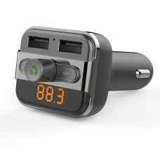 Porodo - Fm Transmitter And Fast Charging Car Charger 3.4 Amp / 15 W