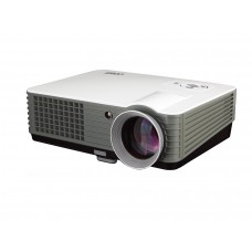 "Coby LCD Projector with Image size 50""-140"" & Projection distance 1.5m - 3.7m + Free 85"" Projection Screen - CPT801"
