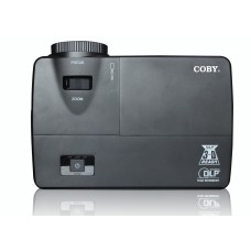 "Coby DLP Projector with Image size 30"" - 300"" & Projection distance 1.4m - 12m + Free 85"" Projection Screen - CPT809"