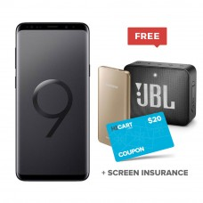 Samsung Galaxy S9+, Dual Sim, 6GB Ram, 64/128 GB  + Free Warranty On Screen  + Free JBL GO 2 Speaker + Free Samsung Battery Pack 5200 mAh & 20$ Coupon Code