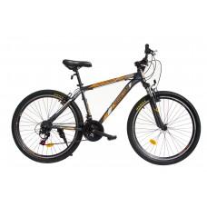 """Spartan, Trail Blazer 26"""" Mens Alloy Mountain Bike, Black & Yellow"""