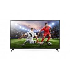 LG 55 Inch Smart UHD TV, 4K Active HDR, 2.0 sound system, Built-In Receiver -  Black