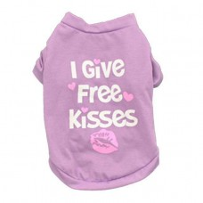 Petstar, I Give Free Kisses, T-shirt, Available in Different Colors and Sizes