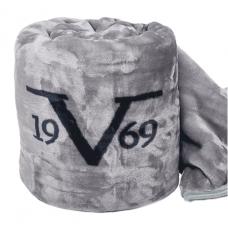 Versace 1969, Velluto Grigio, 220x240 cm, Blanket
