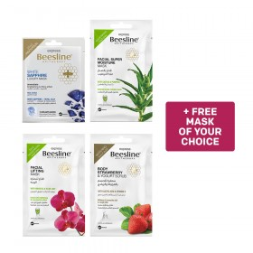 Beesline, 4 Express Masks and Get 1 Mask Free of YOUR Choice - Bundle 4