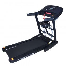 Campomatic Treadmill, 2.5 Horse Power DC, 110 KG, Black