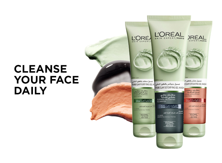 Cleanse Your Face Daily