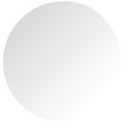 White circle with gradient
